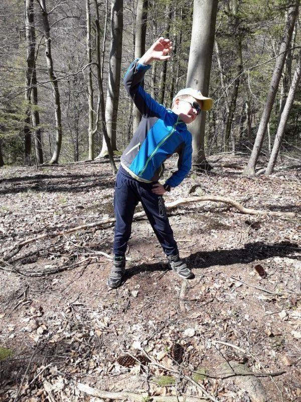 telovadba-v-gozdu